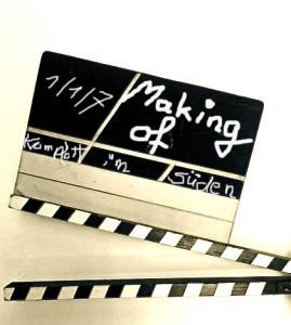 Filmklappe Making of